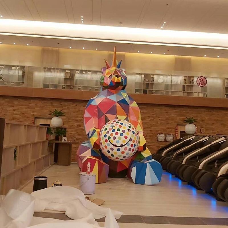郑州玻璃钢雕塑