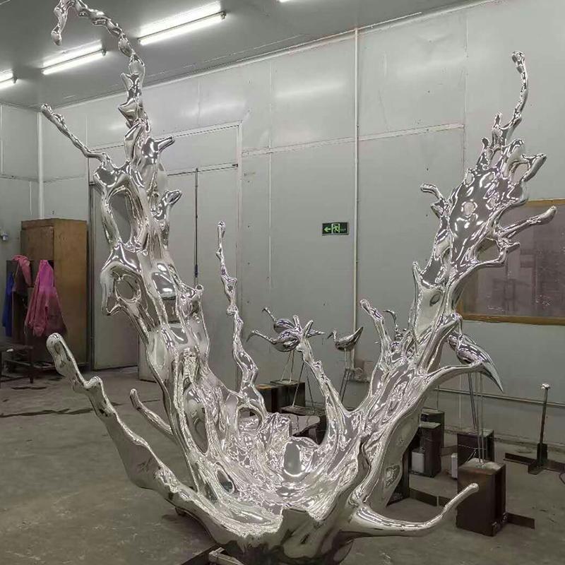 郑州不锈钢雕塑定制厂家