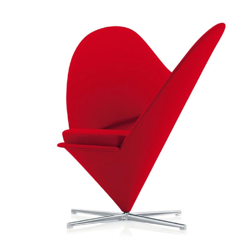 玻璃钢雕塑心形休闲座椅造型