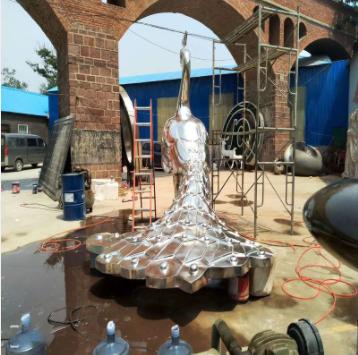 不锈钢雕塑安装中焊接的一些知识要点